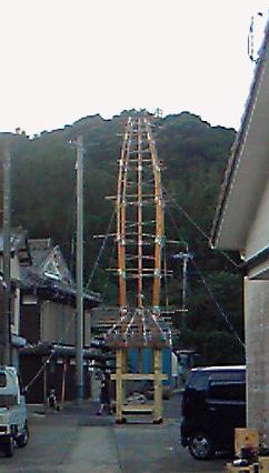 2010小友祇園祭 山笠造り