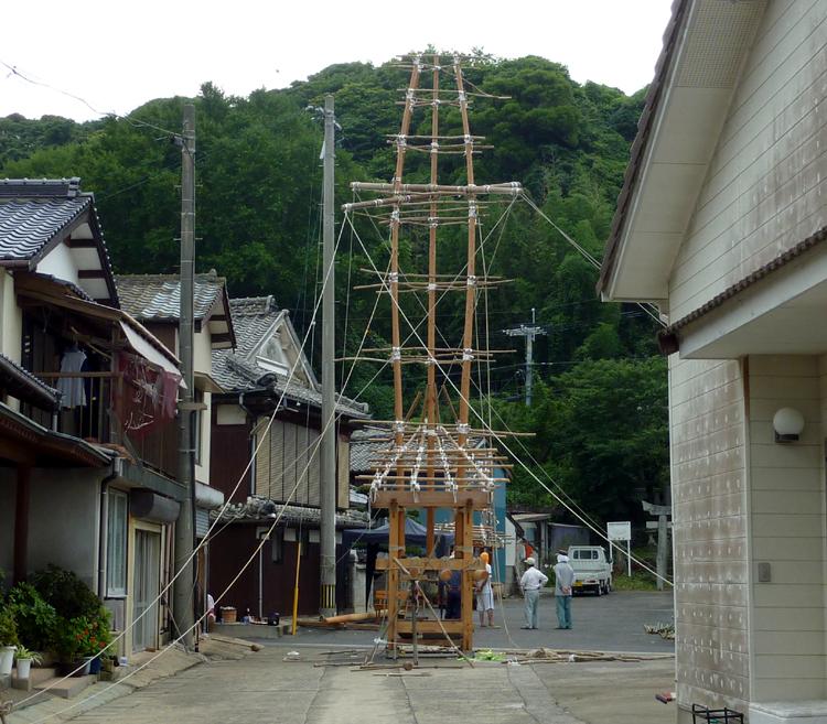 2011年 小友祇園山笠つくり