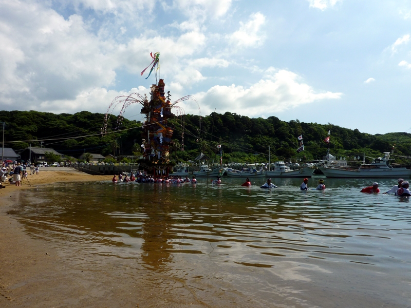 2011 祇園山笠 海を渡る