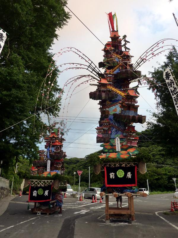 2011 祇園山笠 八坂神社前